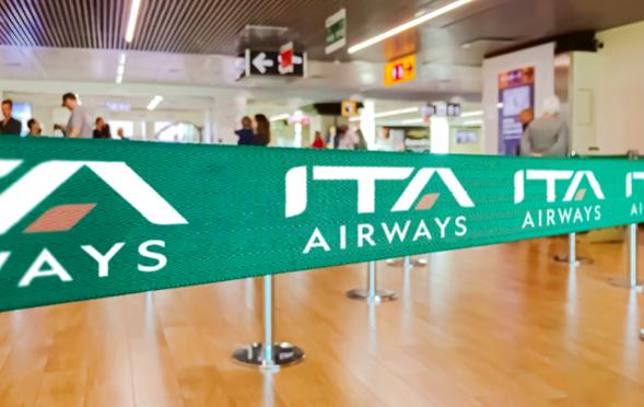 Un logo tutto nuovo e livrea che evoca il passato per ITA AIRWAYS